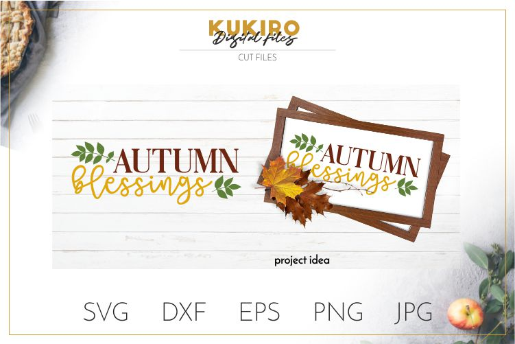 Mini Fall Bundle SVG - Thanksgiving Signs Cut files example image 2
