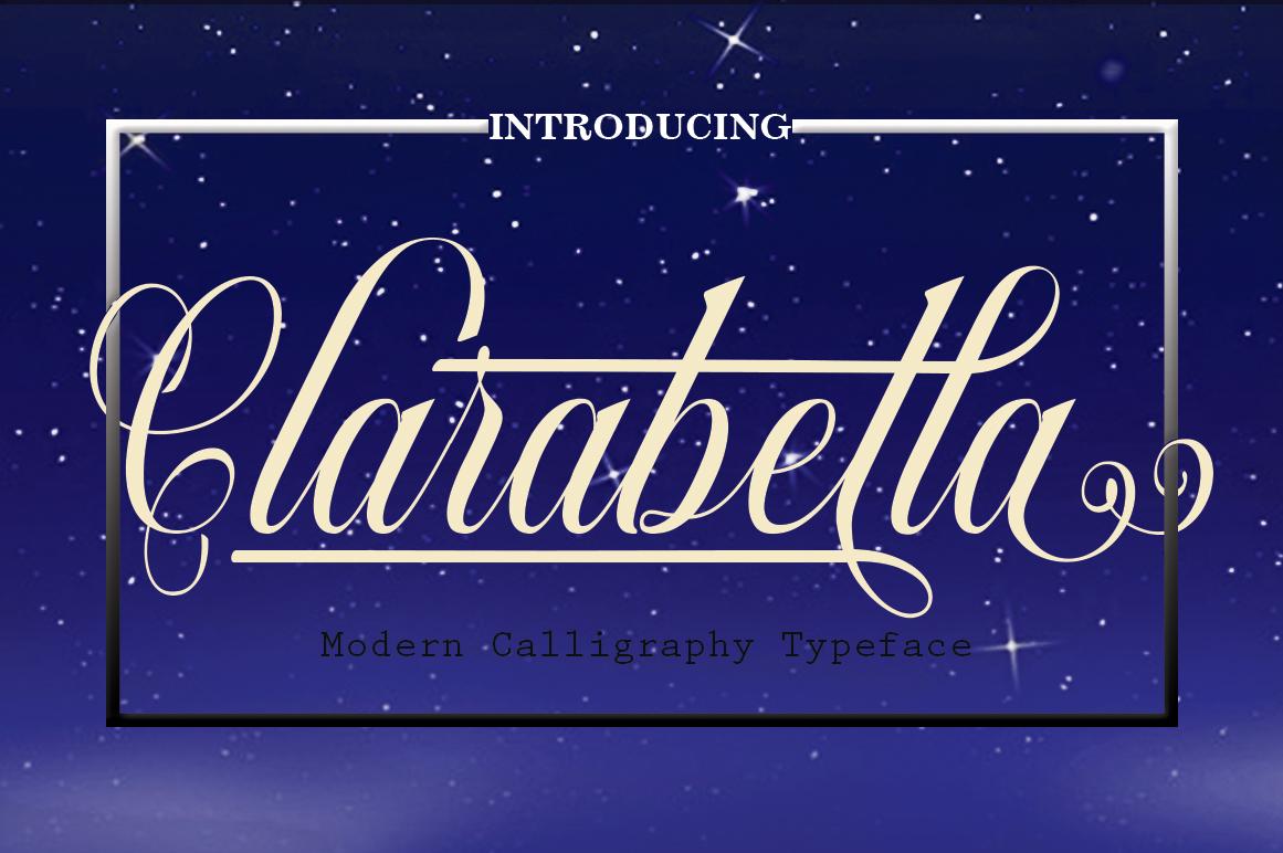 Clarabella (Script) example image 1