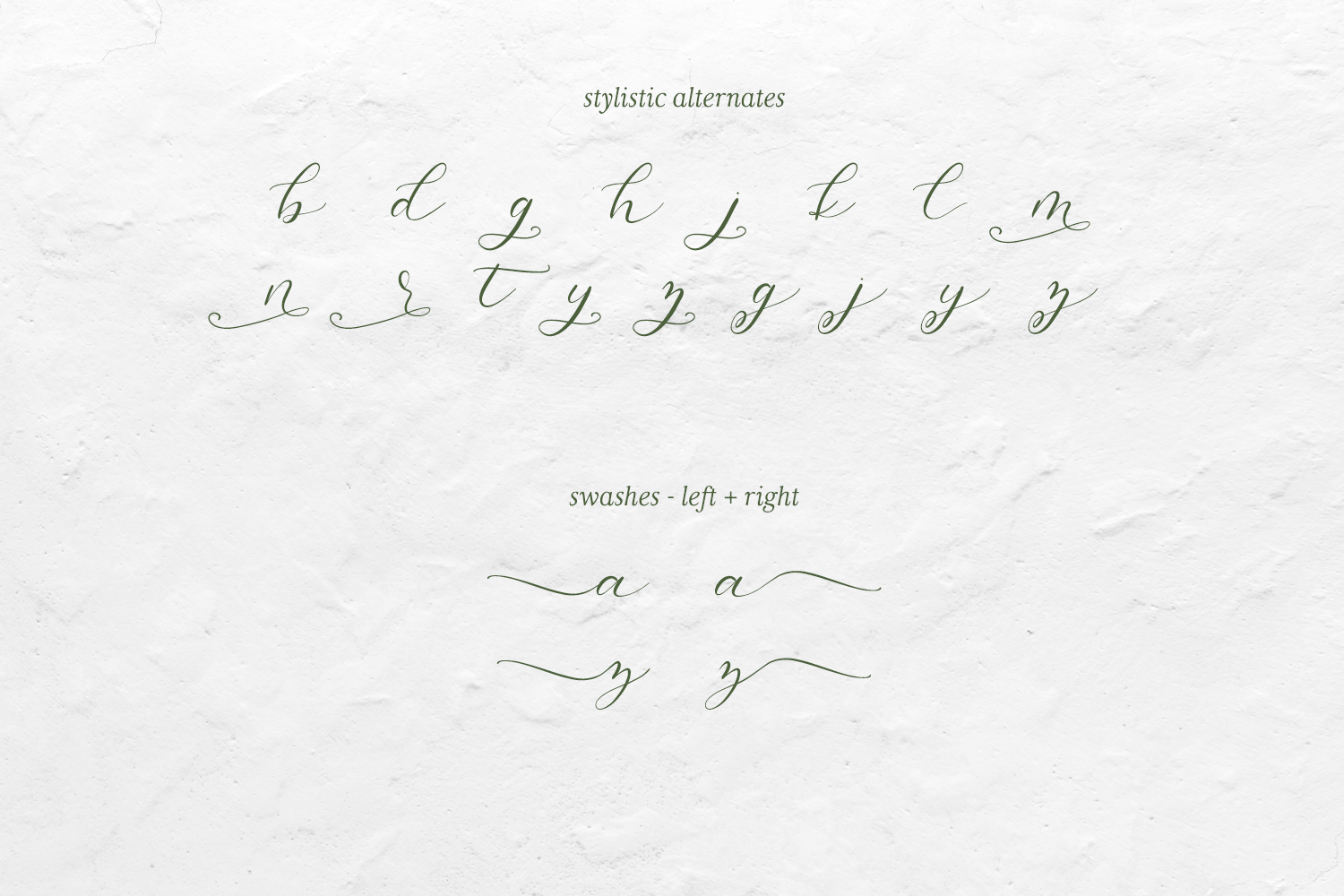 Salt and Sea Calligraphy Font example image 10