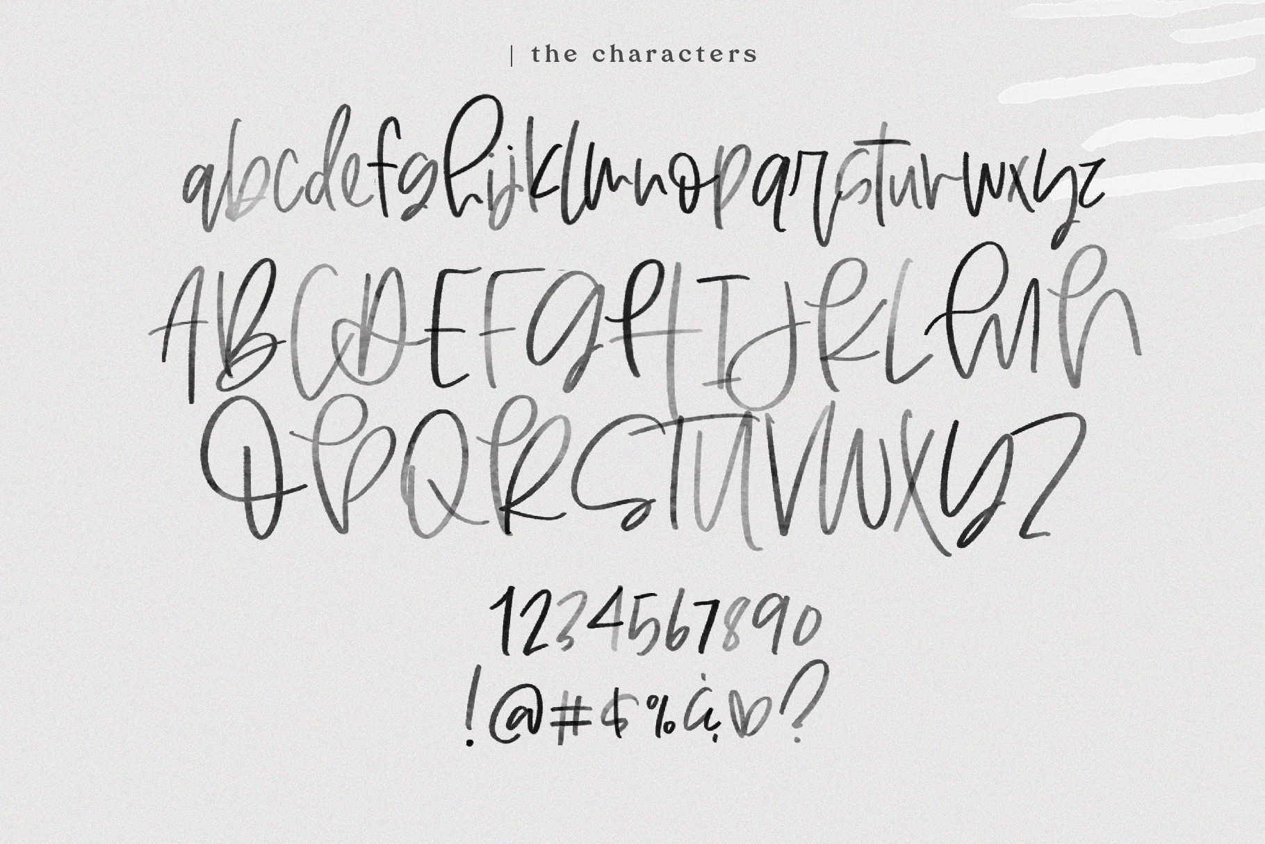 Otherway - A Handwritten SVG Script Font example image 15