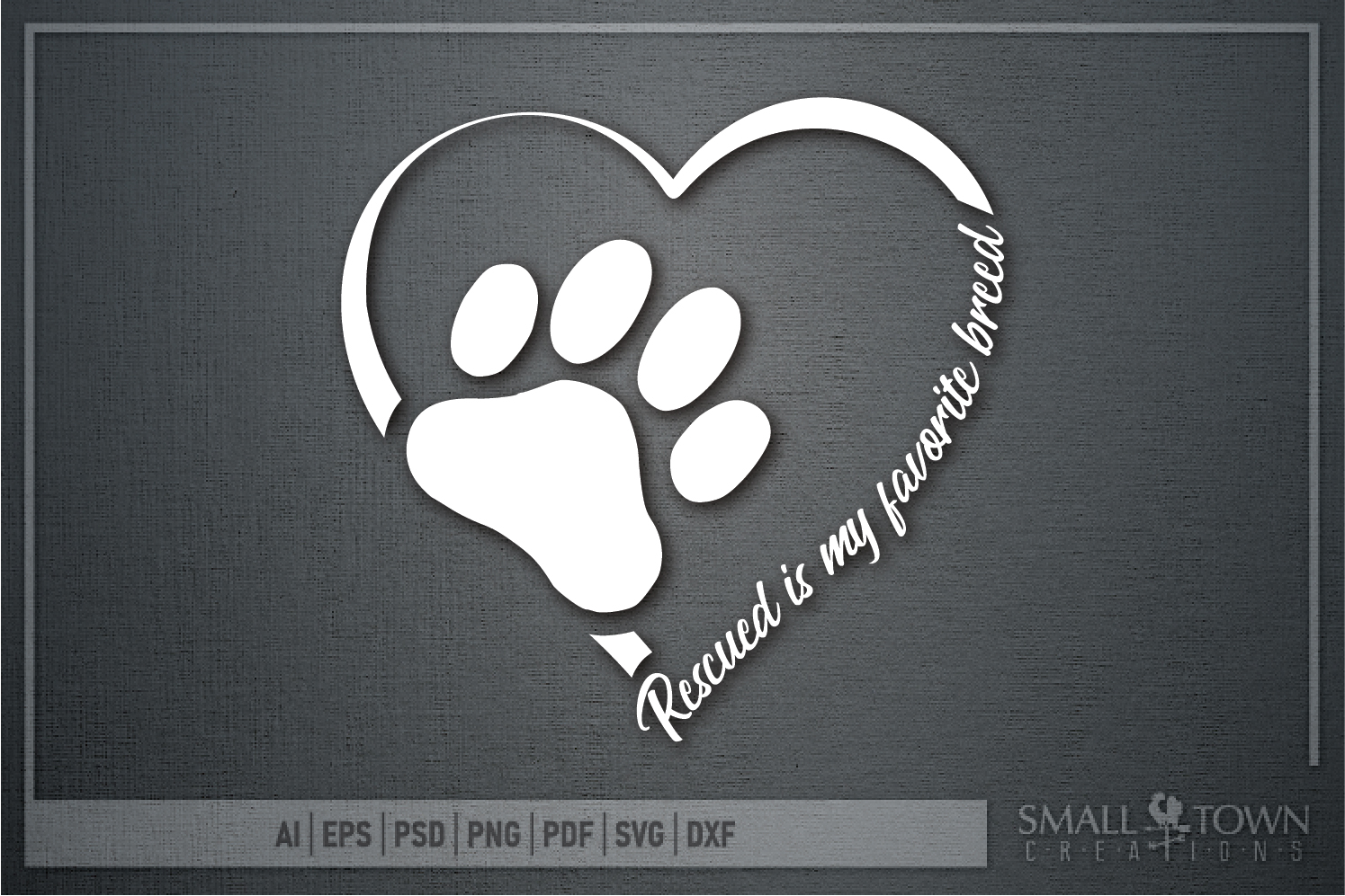 Rescued Cat, Adopted Cat, Cat breed, PRINT, CUT & DESIGN example image 5