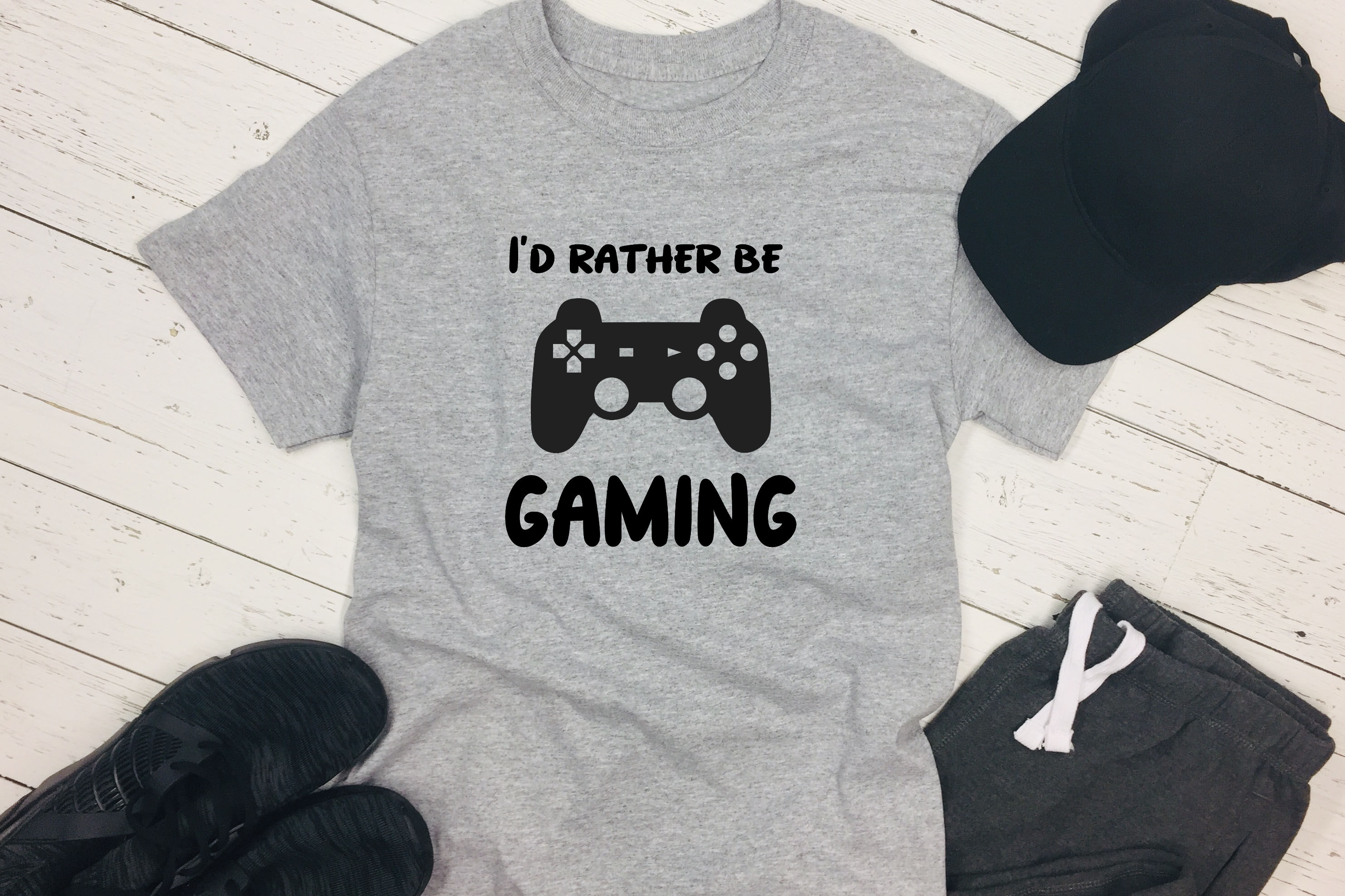 Video Game SVG - I'd rather be gaming example image 4