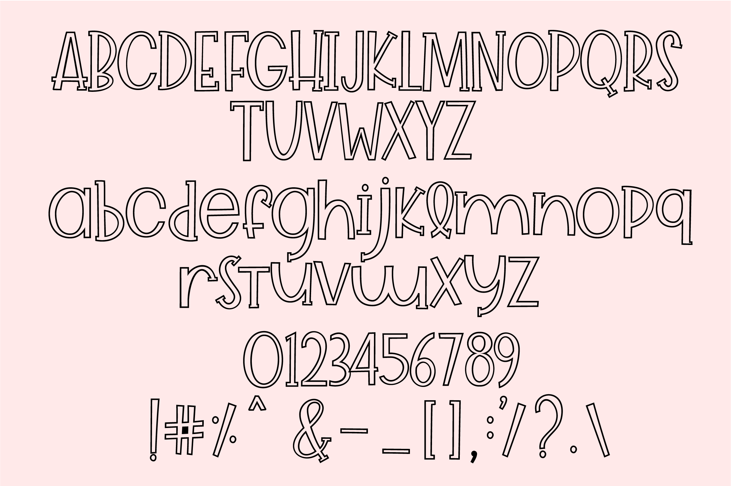 Cuddle Buddy A cute playful Font example image 8