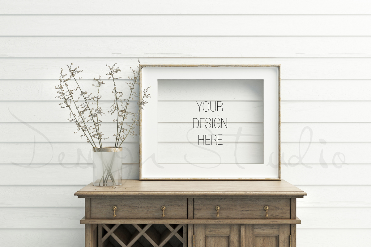 Styled Stock Photography, Frame Mockup, white Frame mockup, Styled Photography Mockup, stock photo example image 2