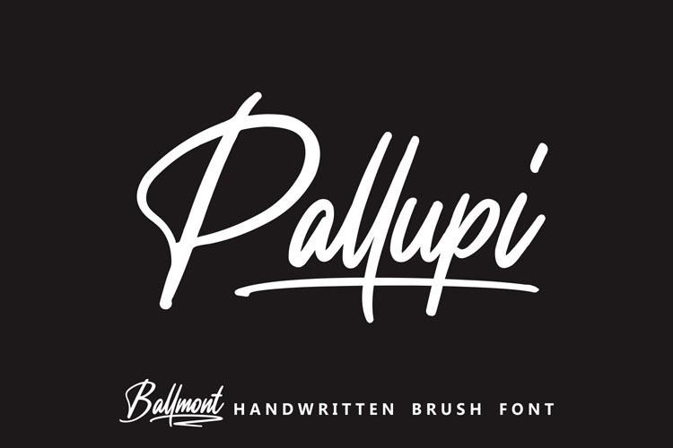 Ballmont - Handwritten Script Font example image 4