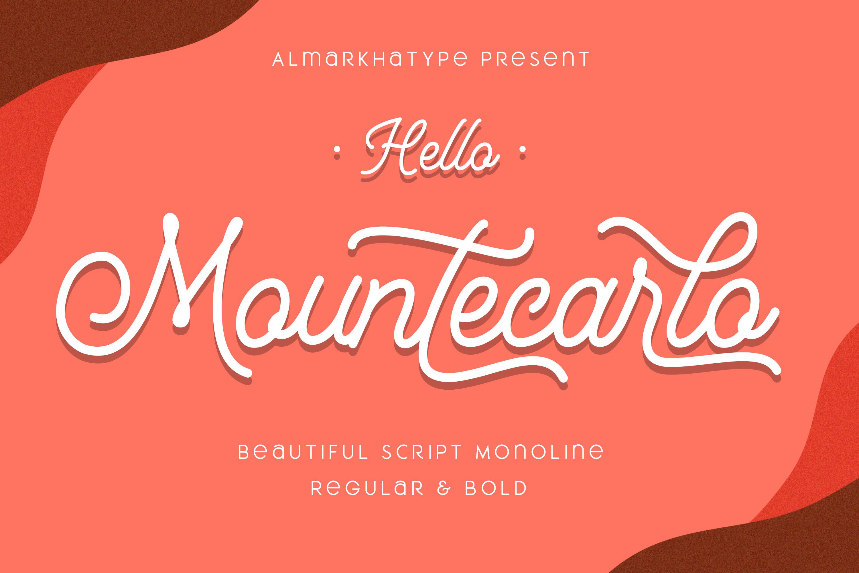 Mountecarlo - Beautiful Monoline example image 10