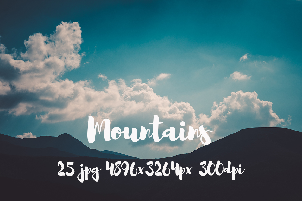 Mountains Pack example image 6