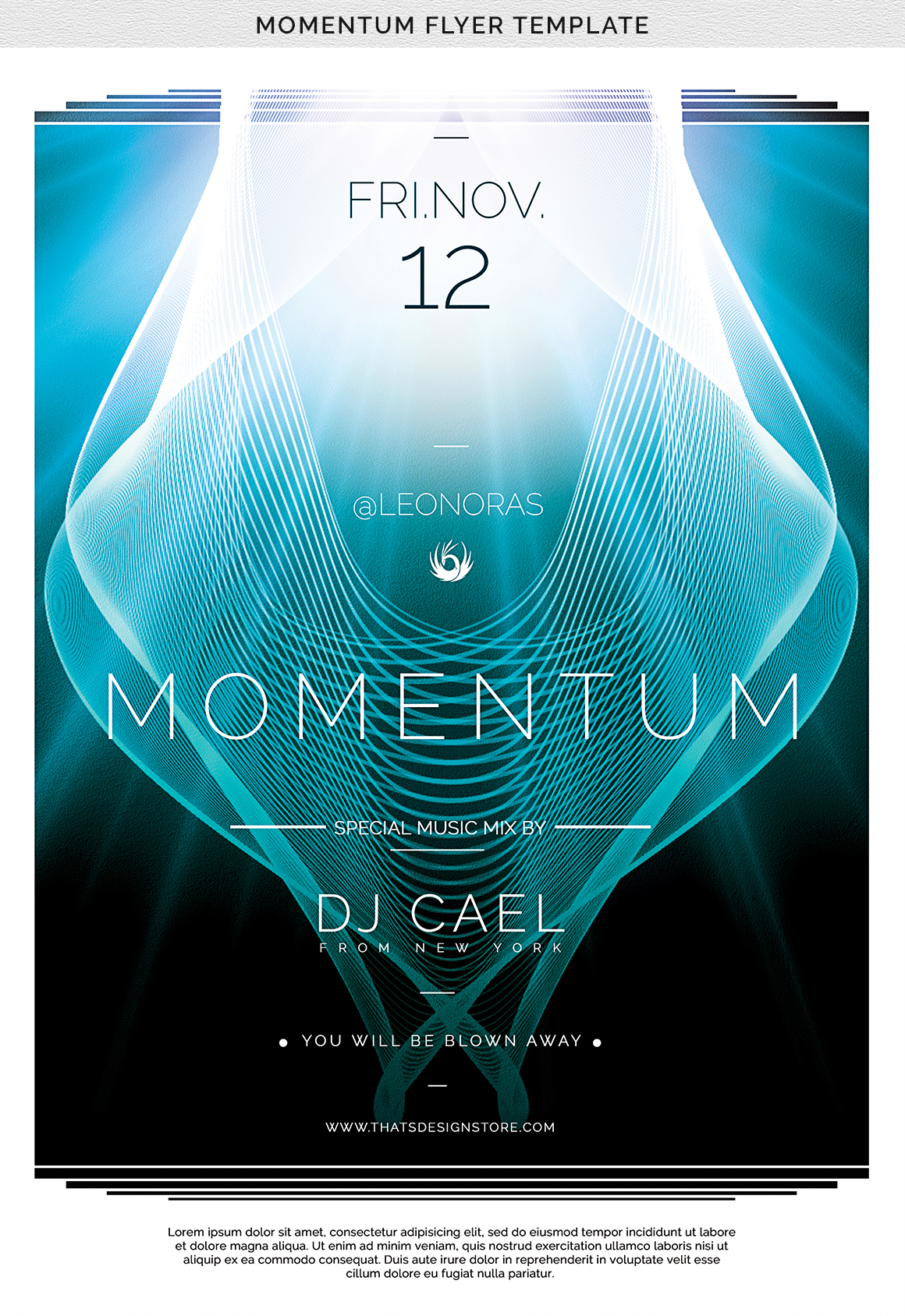 Momentum Flyer Template example image 9