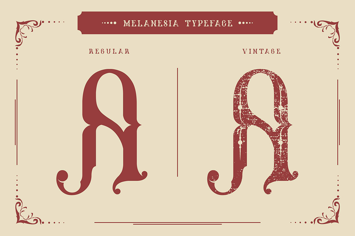 Melanesia Font example image 2