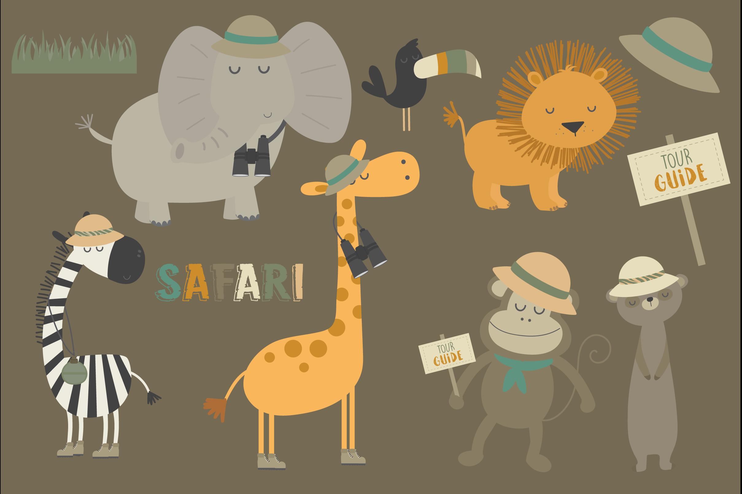 Safari tours set example image 3