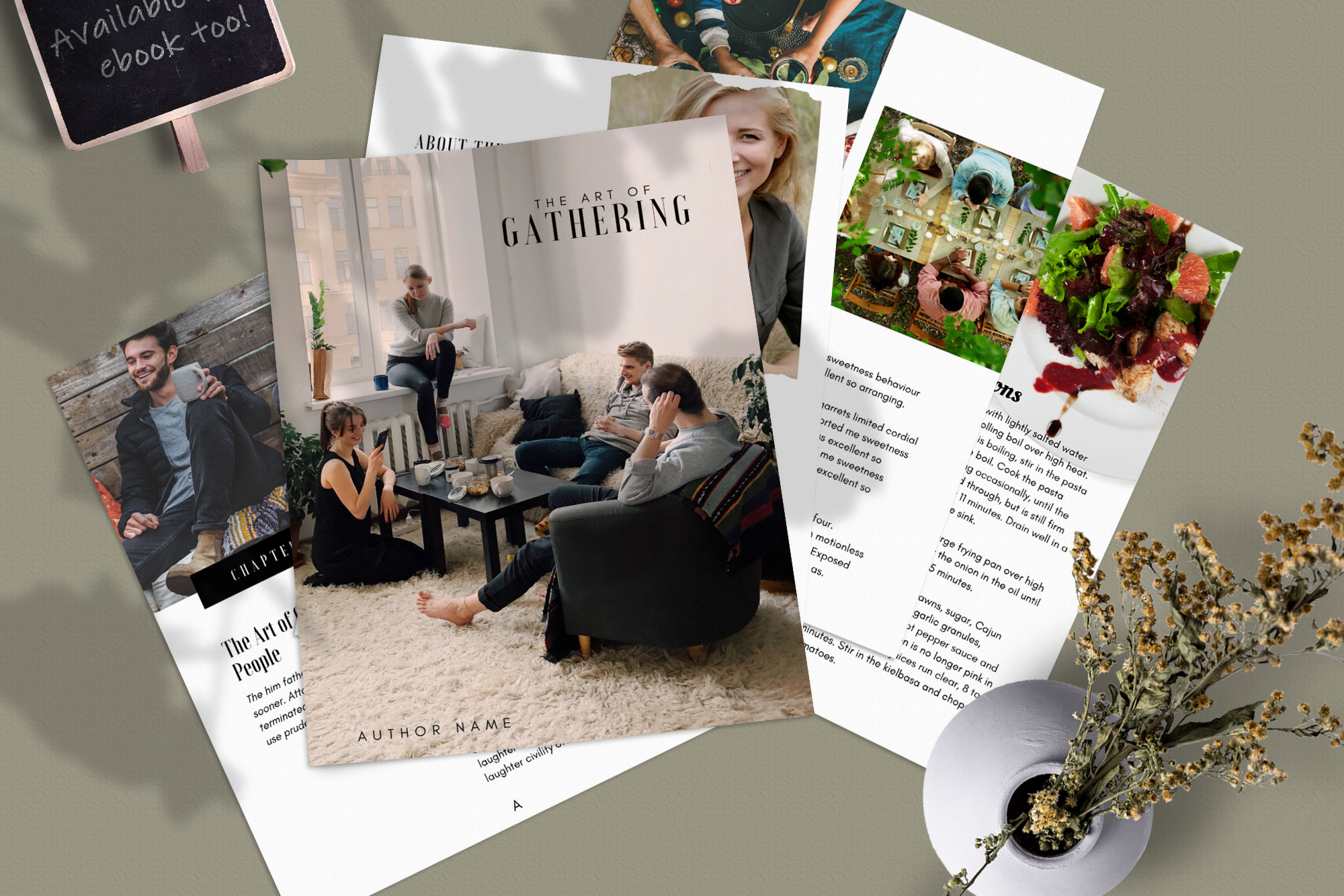 eBook or Lead Magnet Canva Template | Gathering example image 8