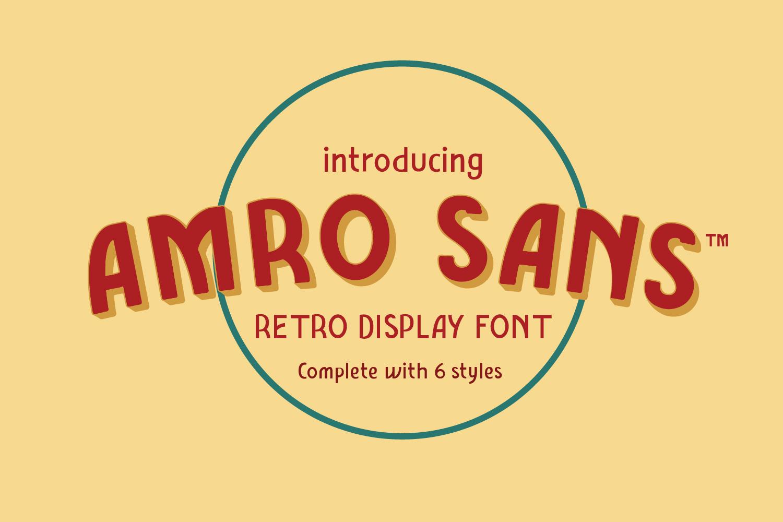 Amro Sans example image 1