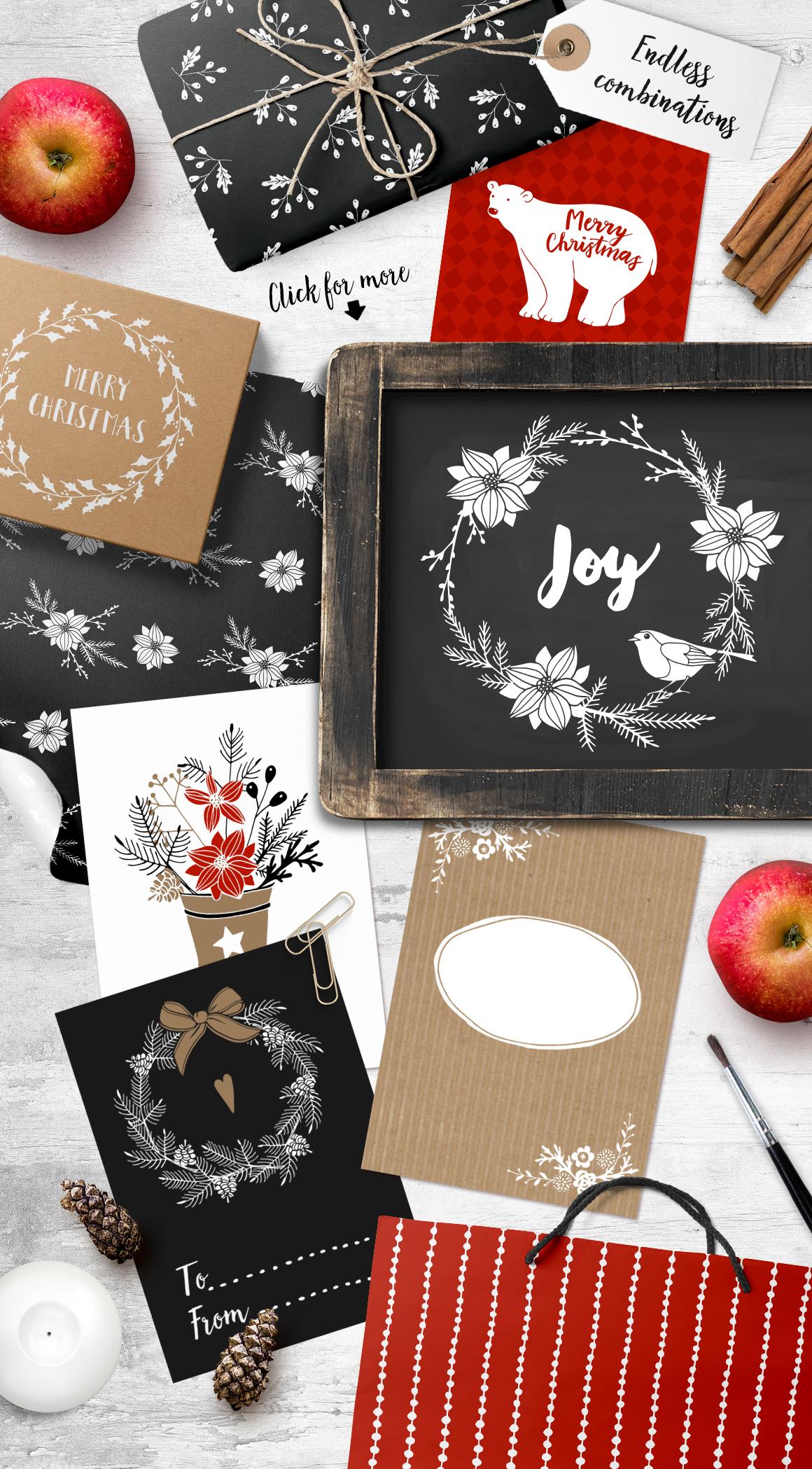 White Christmas set example image 2