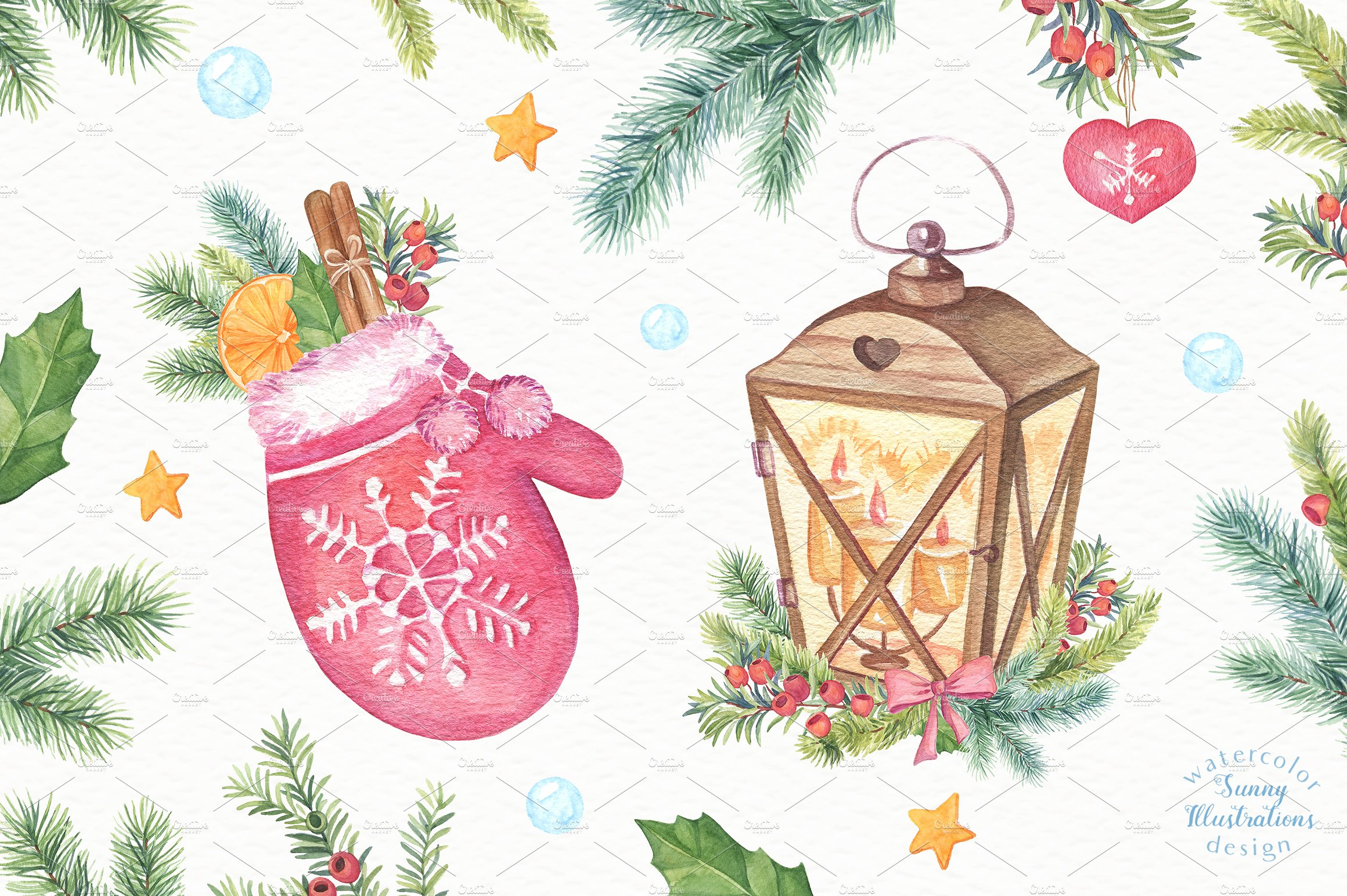 Merry Christmas Collection II example image 6
