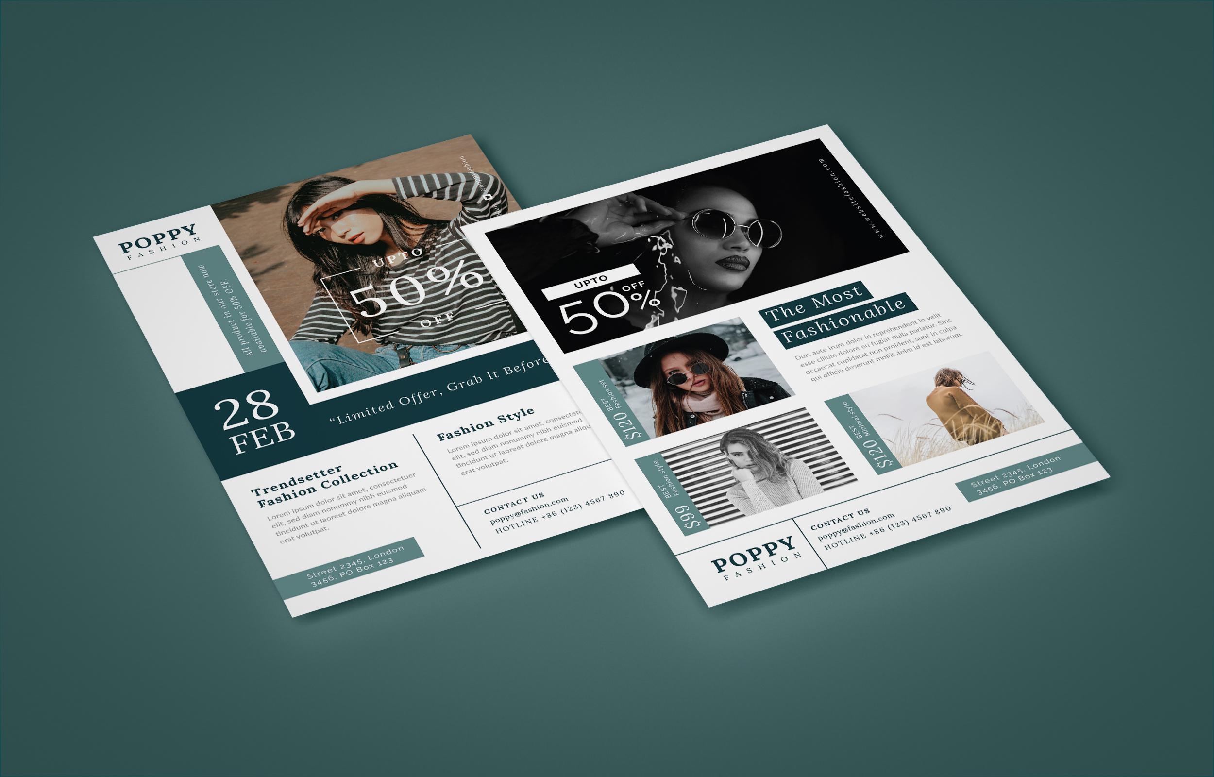 Poppy - Fashion flyer example image 5