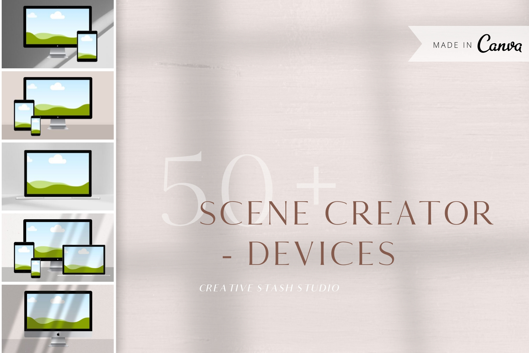 Canva Devices Mockup Scene Creator example image 2