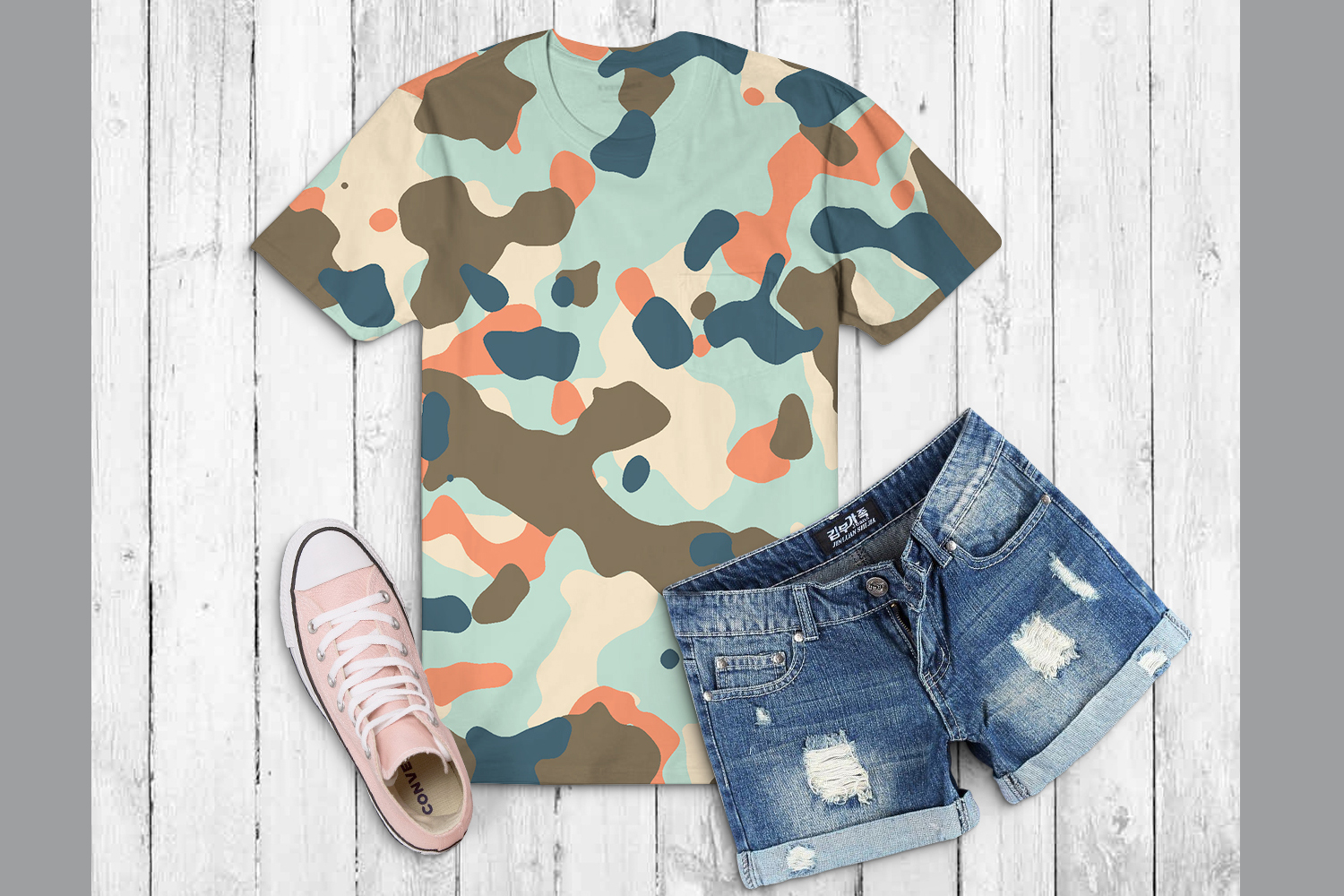 40 Alternative Camouflage Paper Designs example image 15