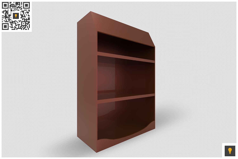 Promotional Shelf Display 3D Render example image 11