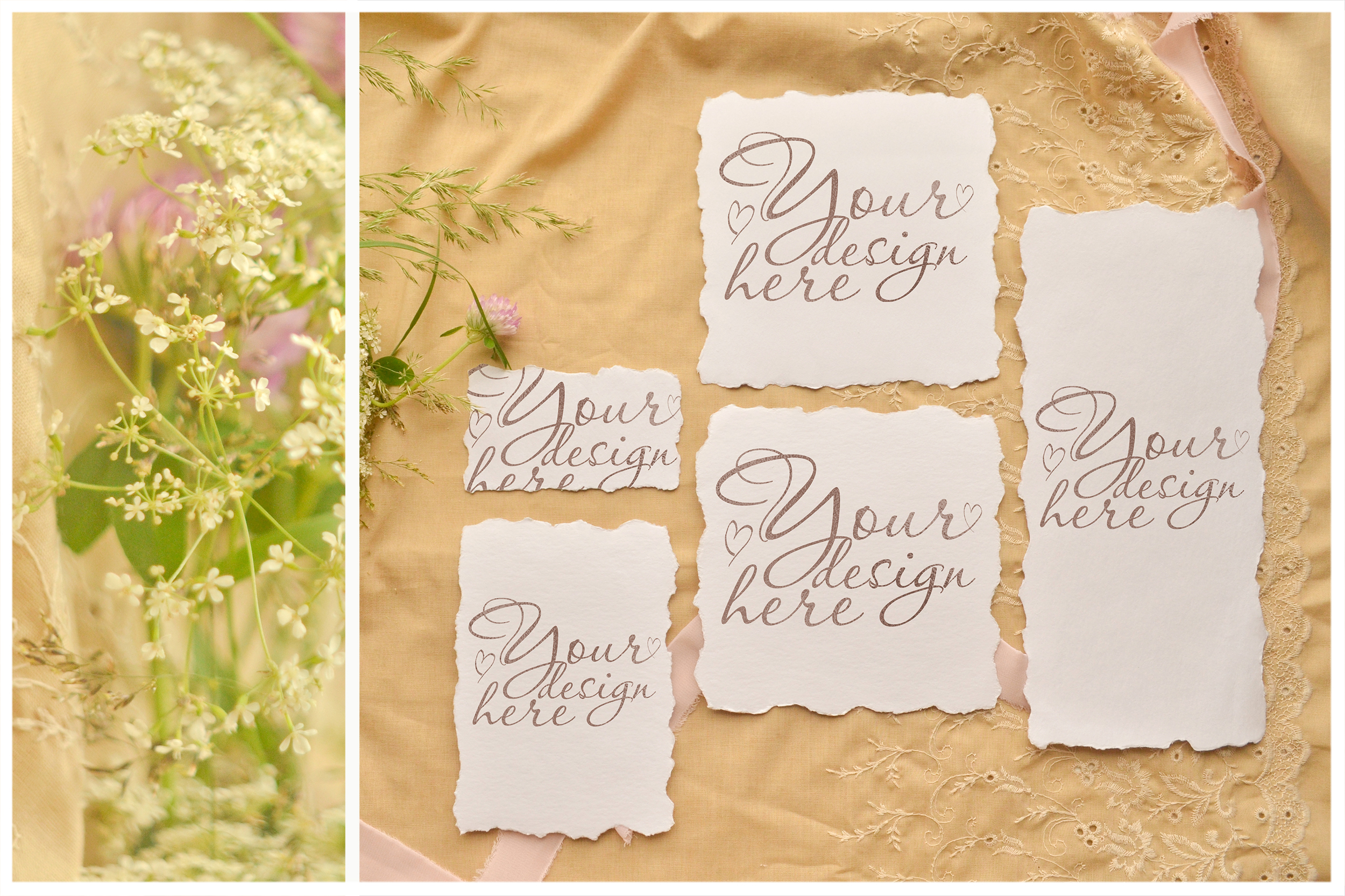 Honey Meadow. Wedding mockups & stock photo bundle example image 2