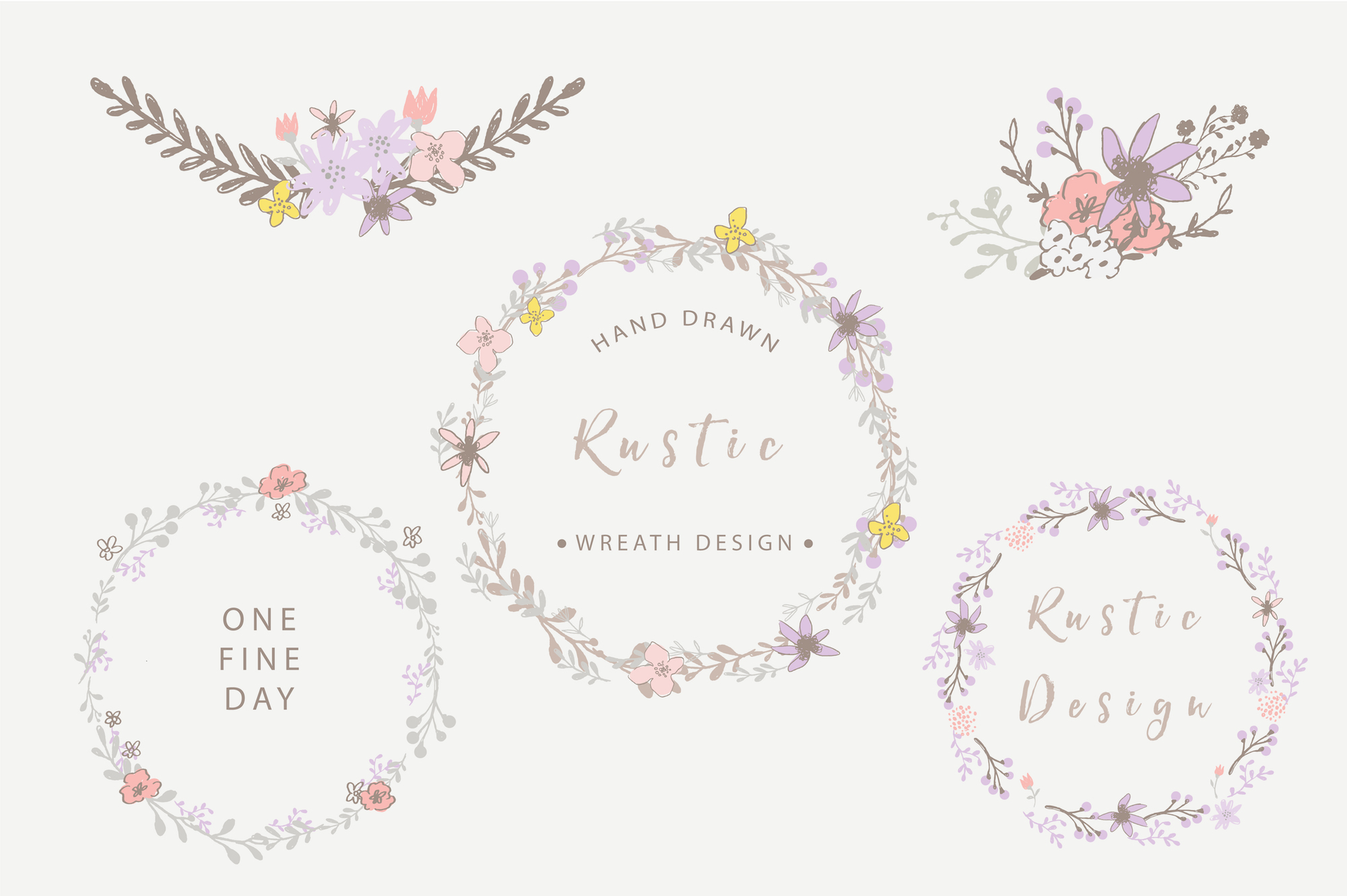 One Fine Day - Rustic Floral Design example image 3