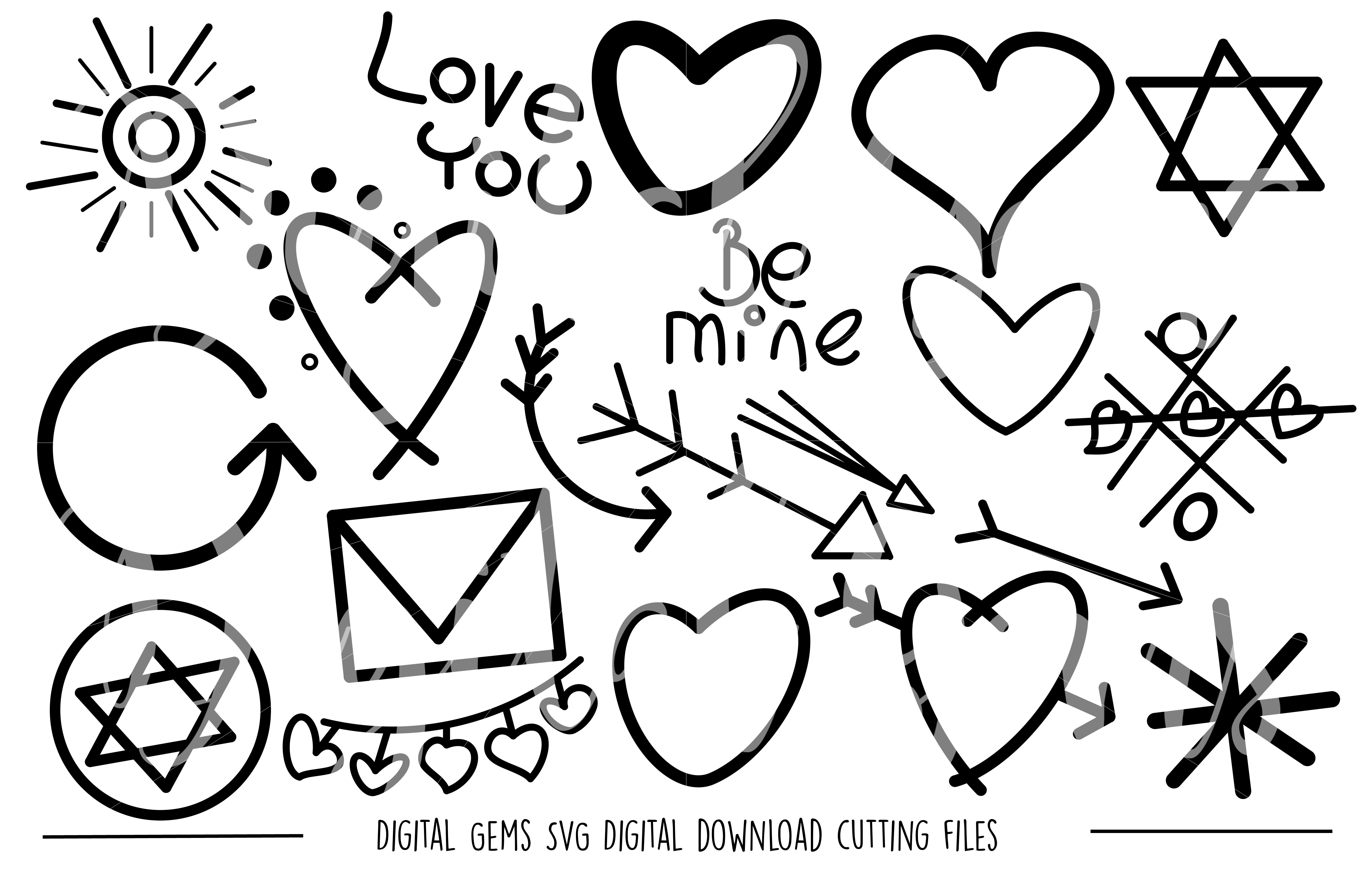 Doodle SVG / PNG Files example image 1