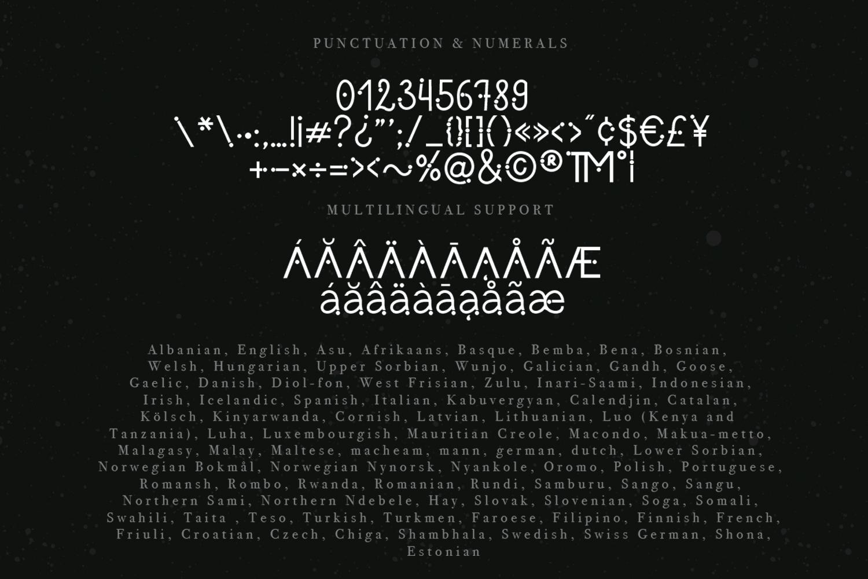 Meraki font example image 9