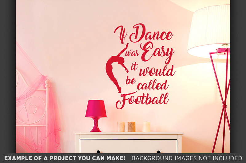 If Dance Was Easy SVG - Dance Shirt SVG File - 1049 example image 2