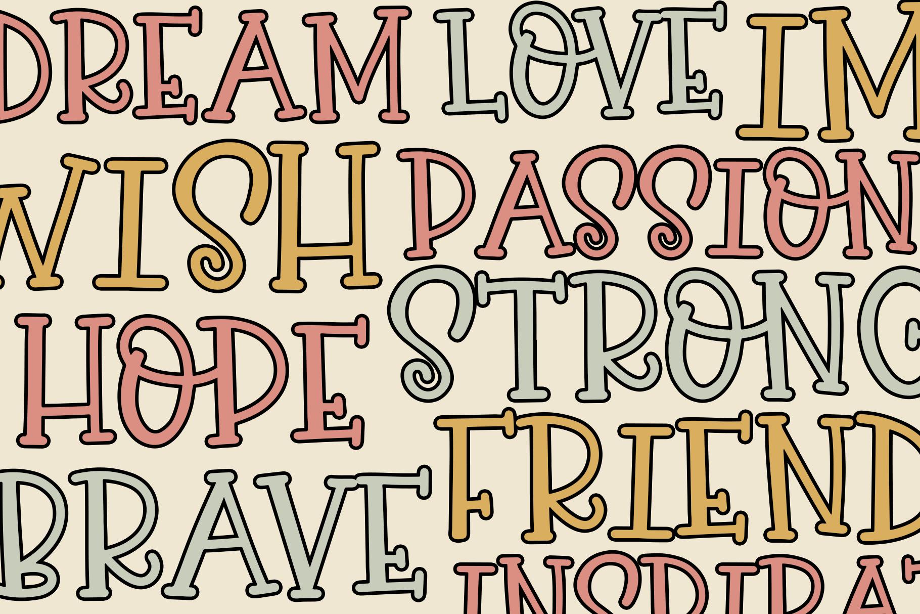 Sweet Berry - A Fun Handwritten Font example image 5