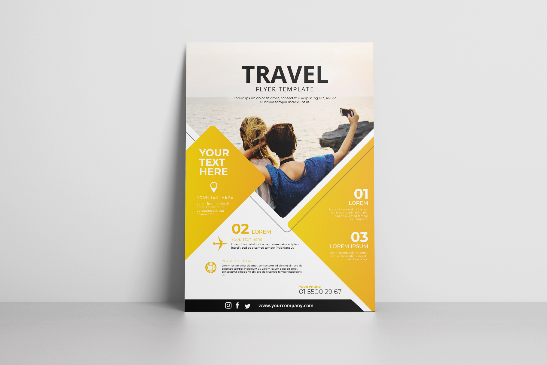 Travel Flyer Vol. 01 example image 3