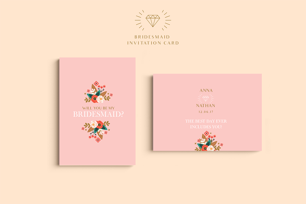 Peach Wedding Set example image 3