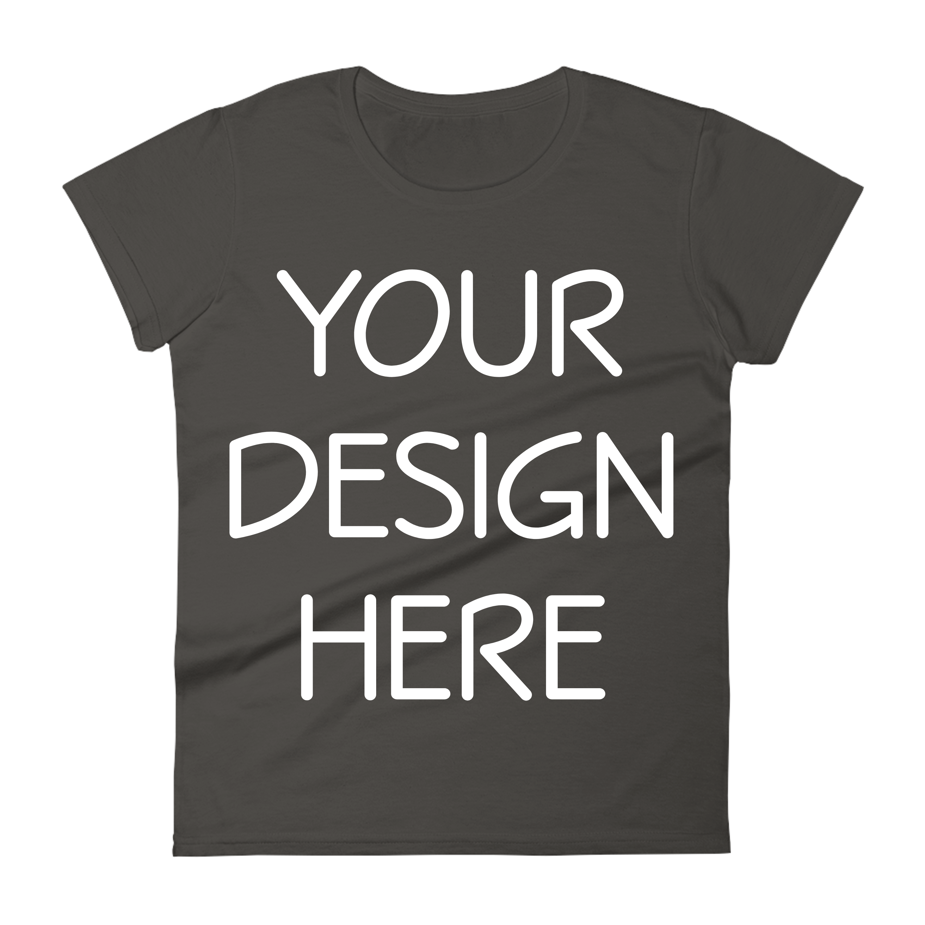 Anvil 880 Ladies Fit T-Shirt Mockups - 17 | PNG|3000x3000px example image 15