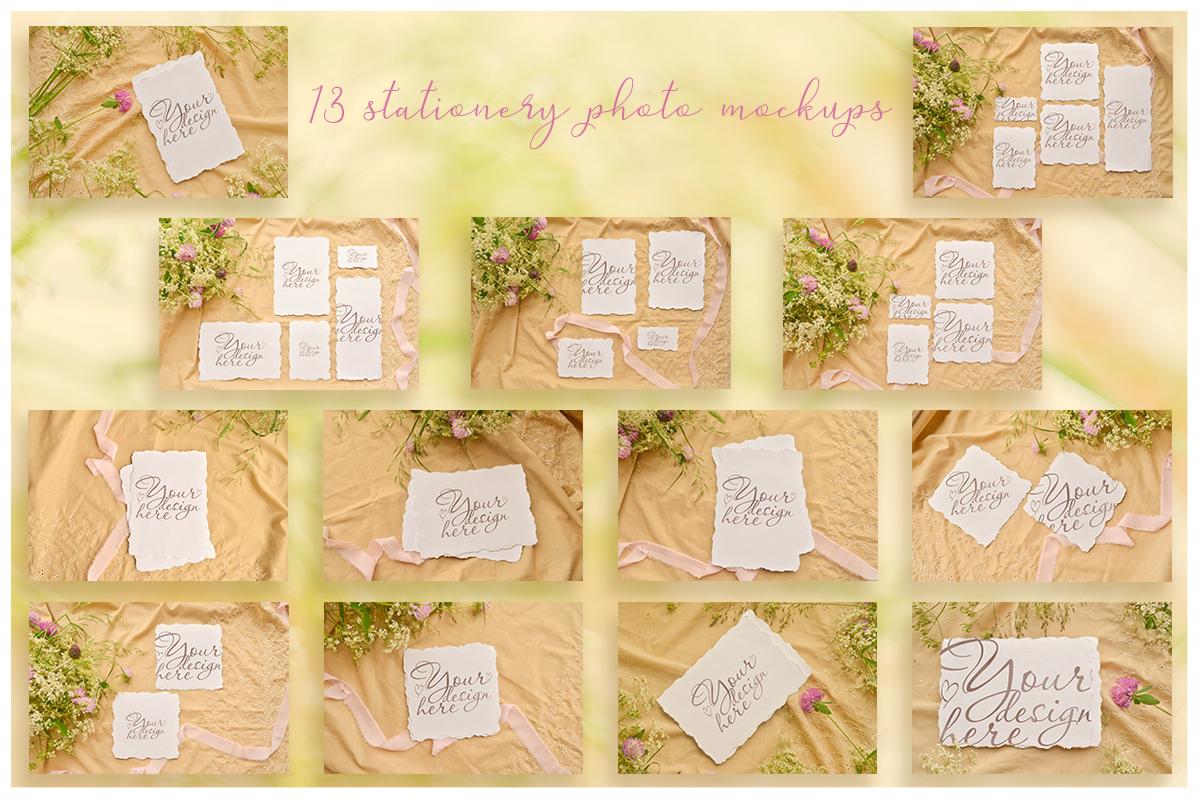 Honey Meadow. Wedding mockups & stock photo bundle example image 18
