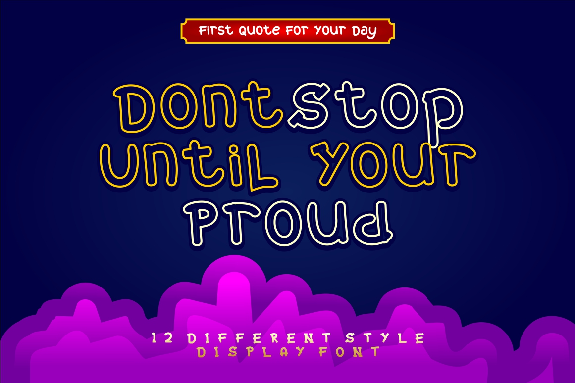 Mixy Missy - 12 Style Display Font example image 13