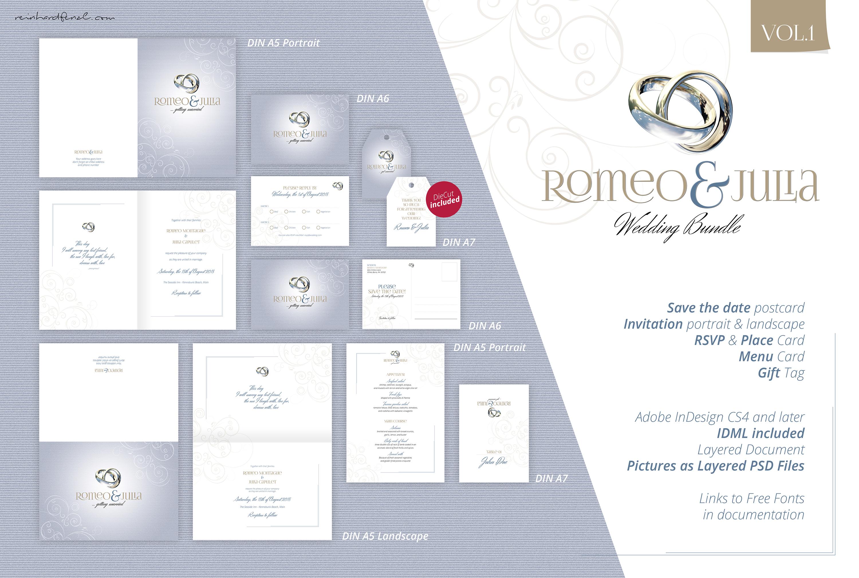 Romeo & Julia - Wedding Bundle Vol.1 example image 2