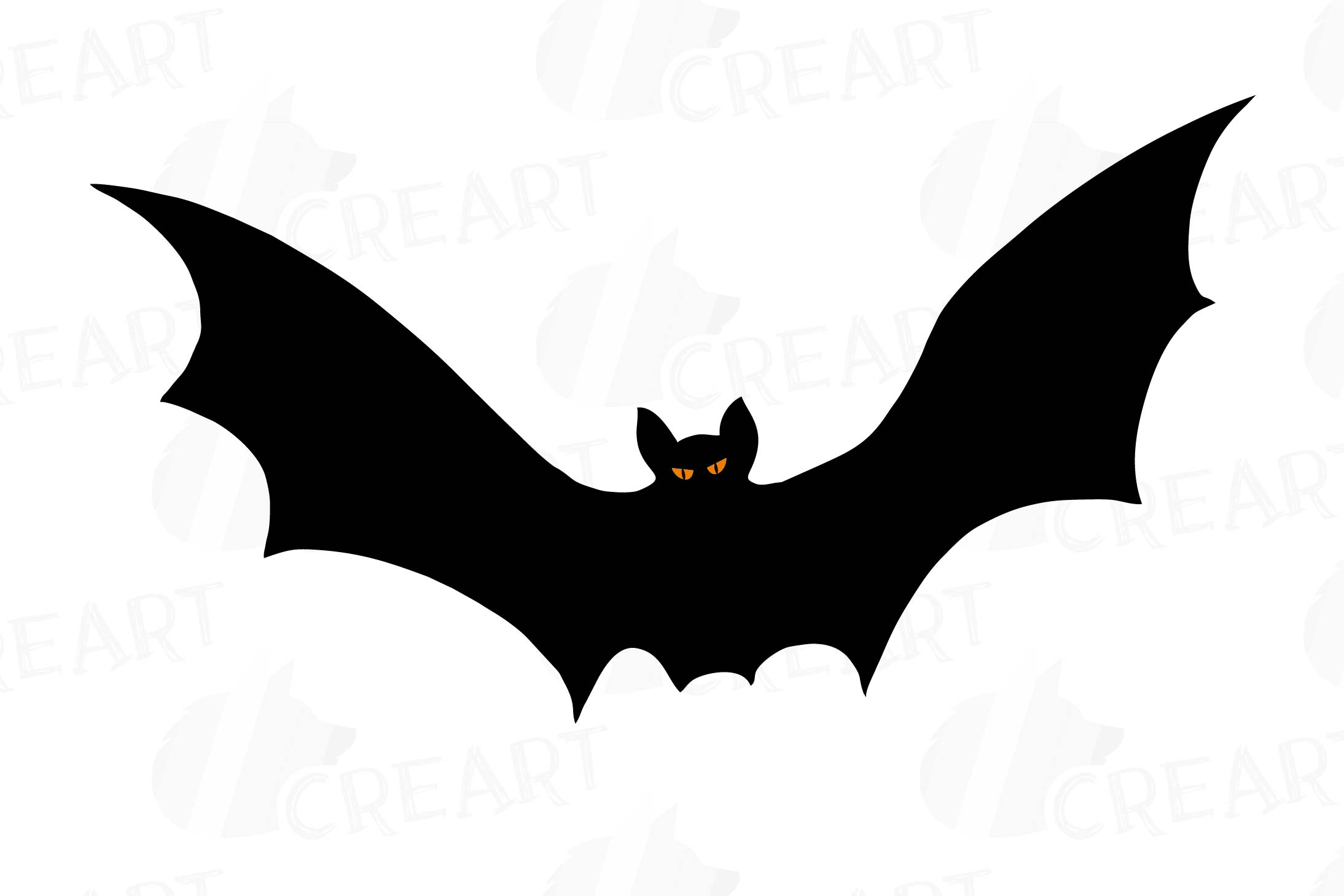halloween bats silhouettes clip art halloween party vectors example image 4