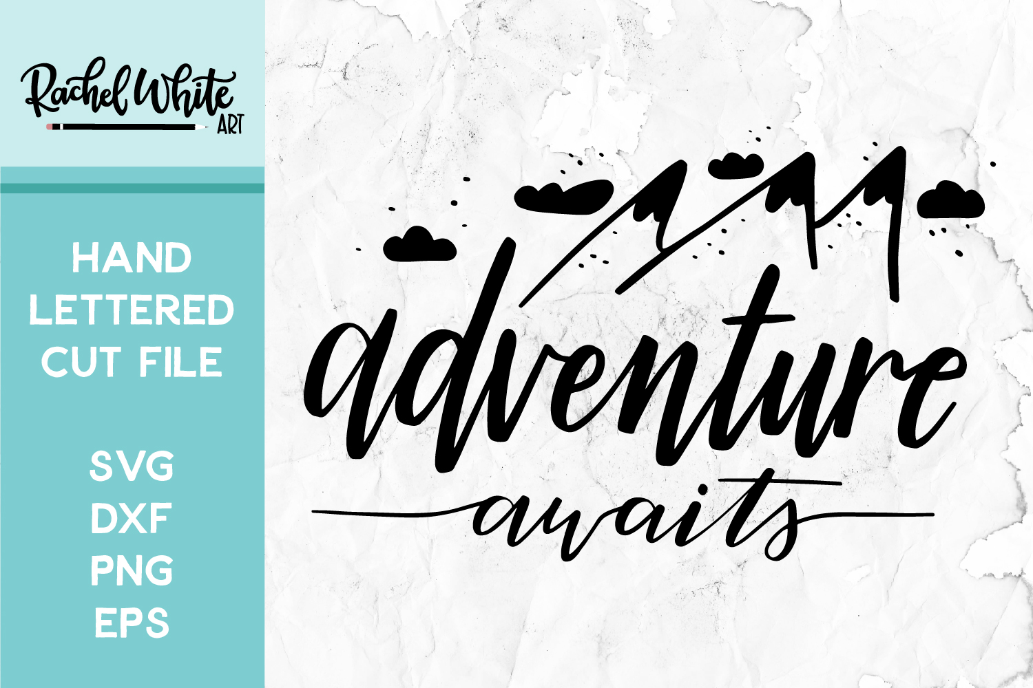 Cut File, Adventure Awaits SVG example image 1