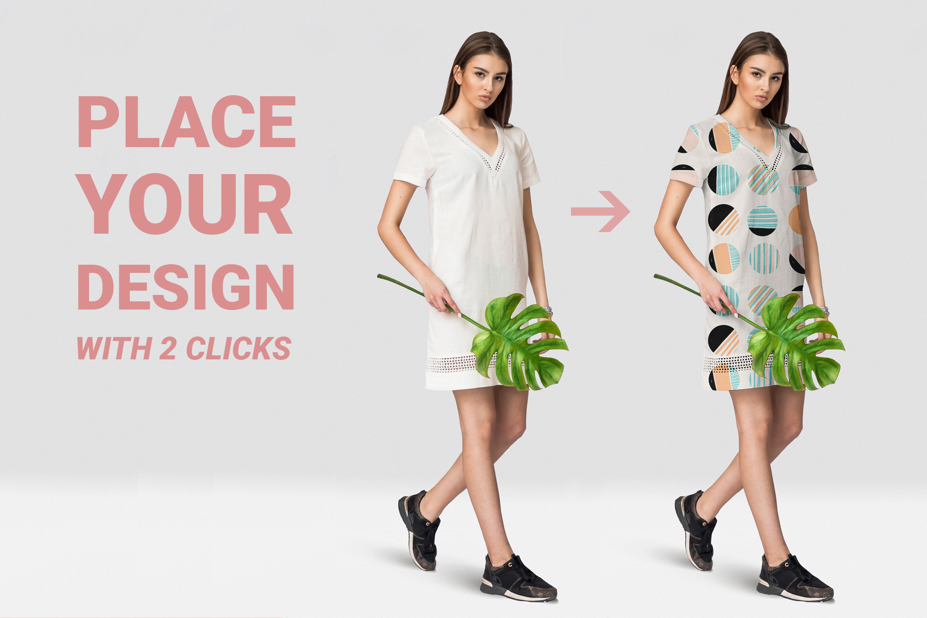 Female dress mockups Free demo example image 5