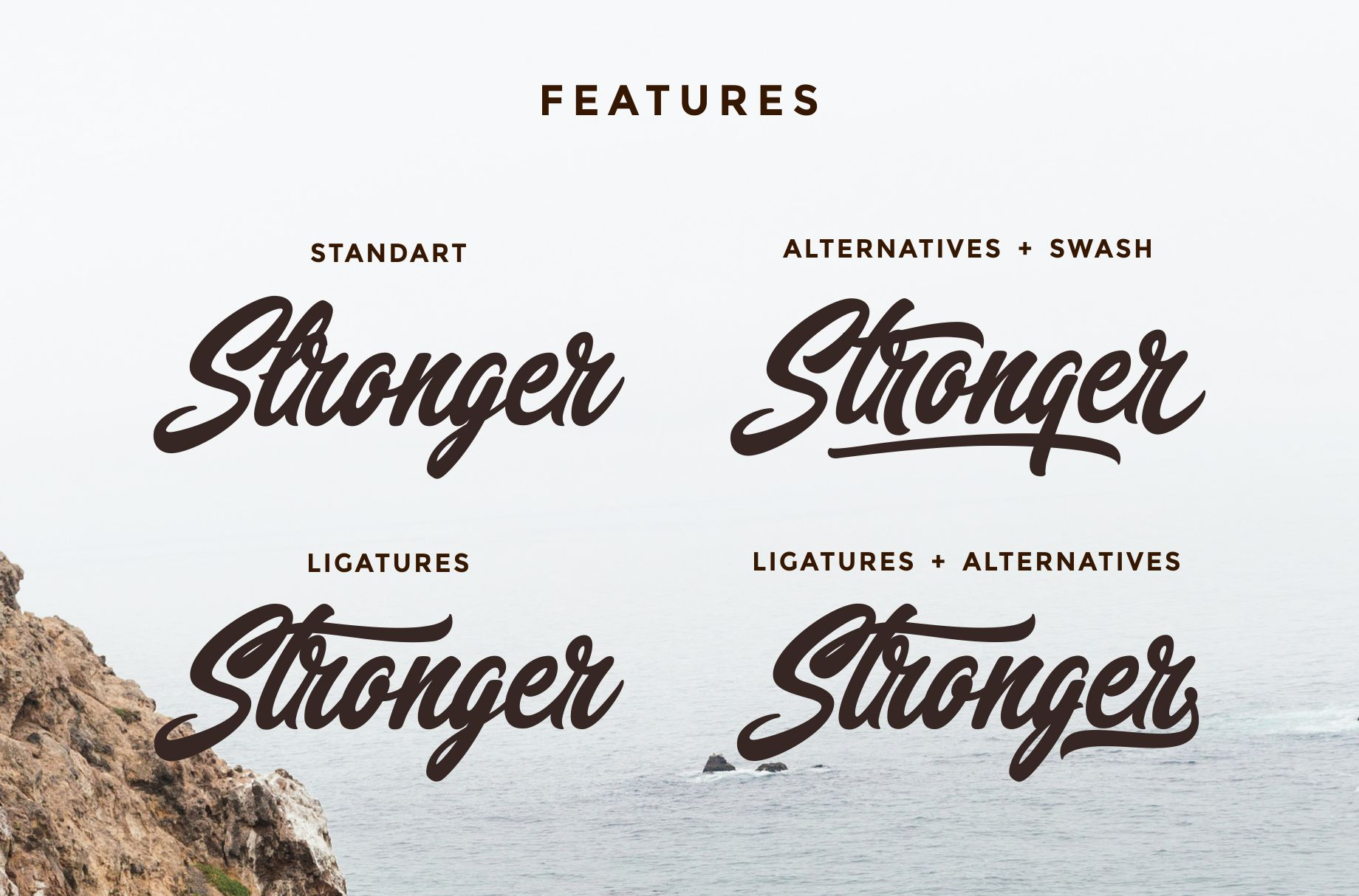 Narmada Typeface example image 4