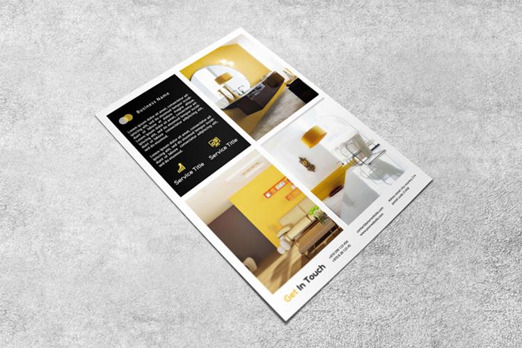 Interior design flyer example image 2