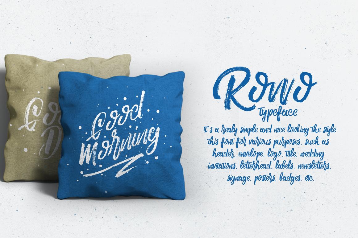Rowo Typeface + Bonus example image 6