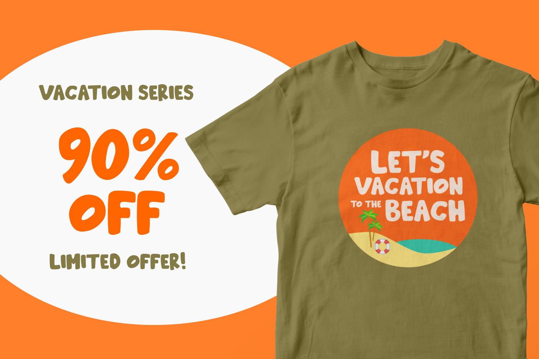 Beachday - Fun Display Font example image 2