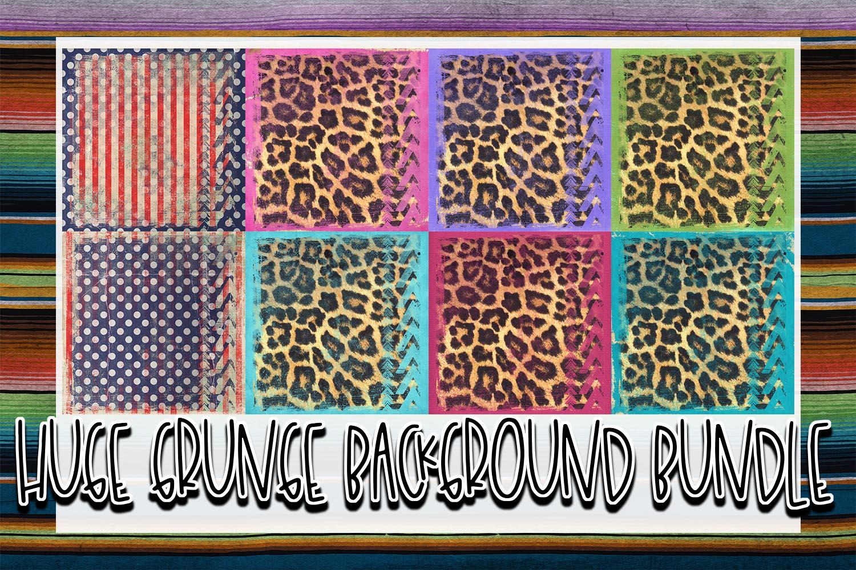 Huge 26 Grunge Background Elements Bundle! example image 3
