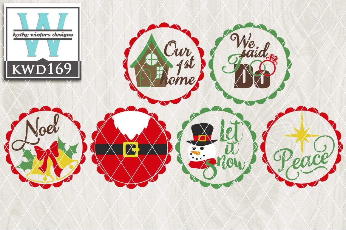 Christmas Cutting Files KWD169 example image 1