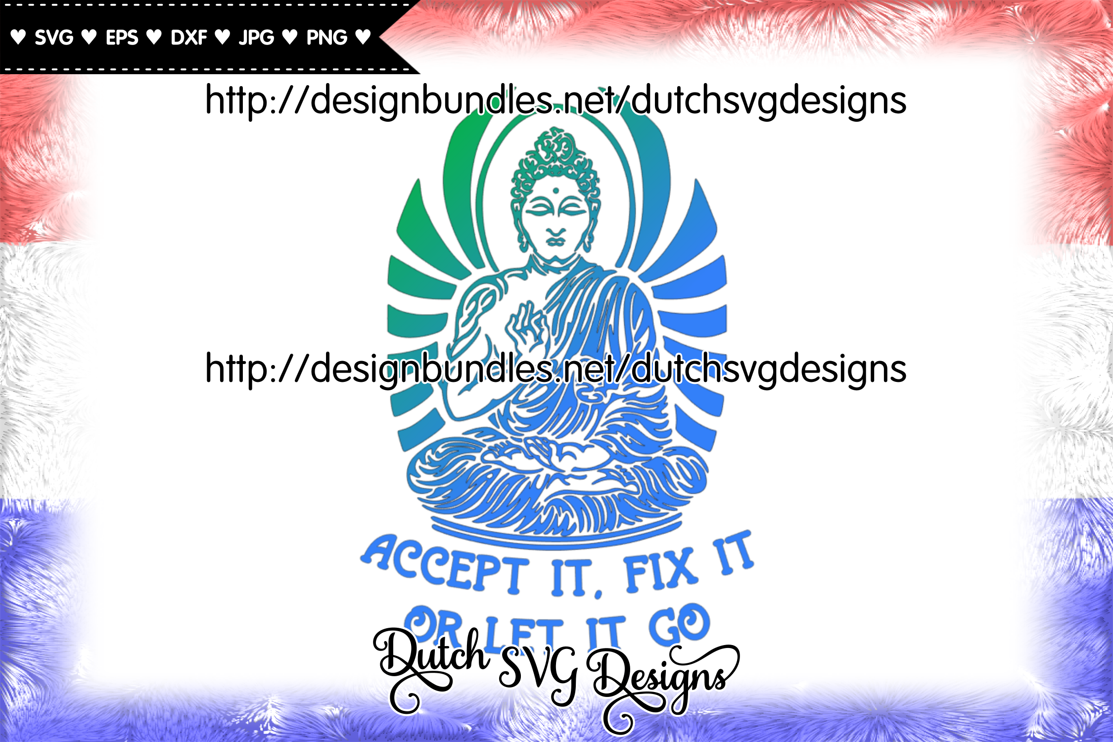 Text cutting file with buddha, buddha vector, buddha svg example image 2