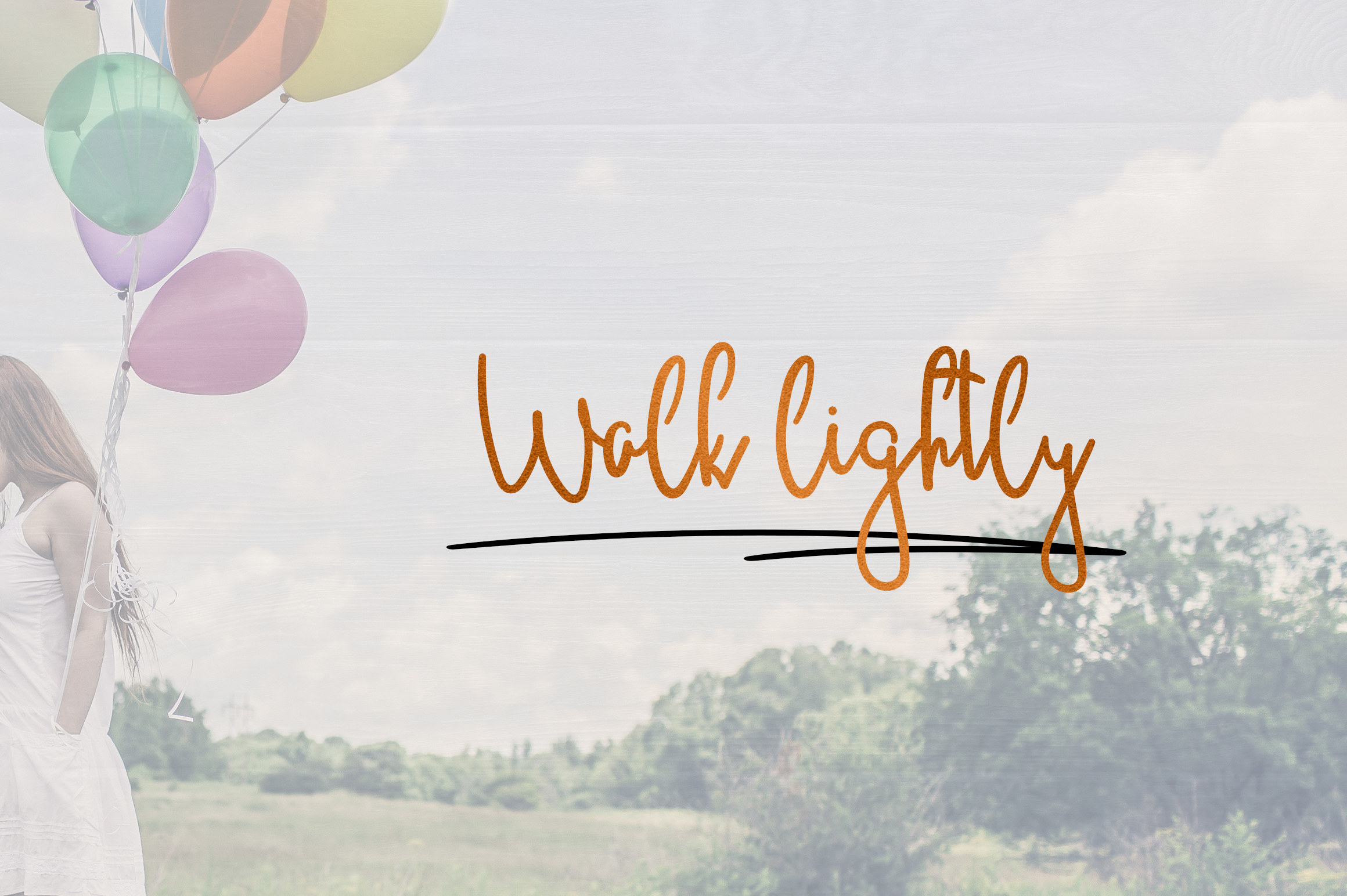 JustBecause font family example image 5