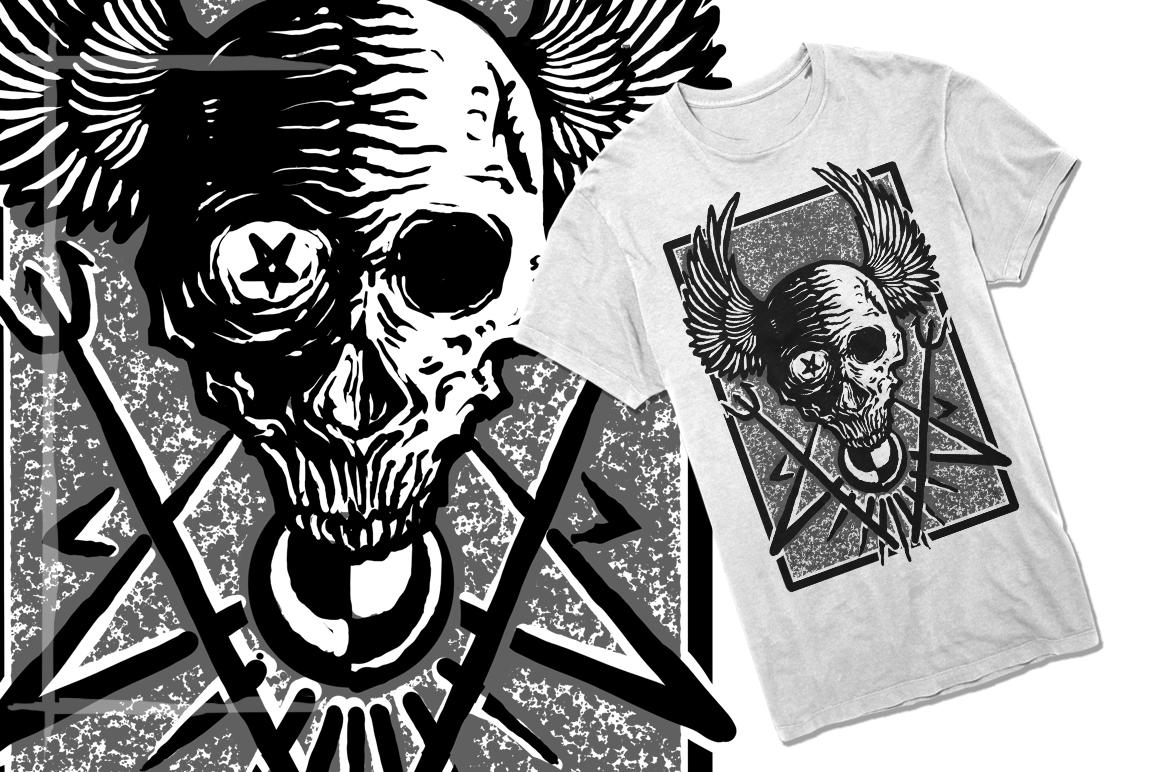 T-Shirt Designs Skull example image 13