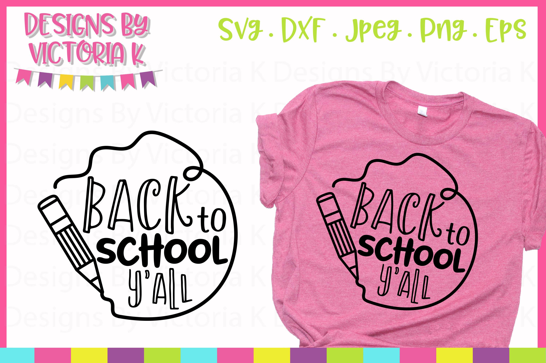 Back to school Bundle, 40 School designs, SVG, DXF, EPS example image 4