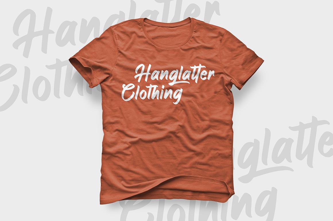 Hanglatter - Modern Calligraphy example image 7