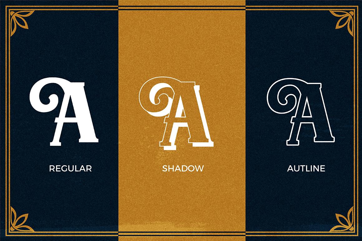 Chellora Typeface example image 6
