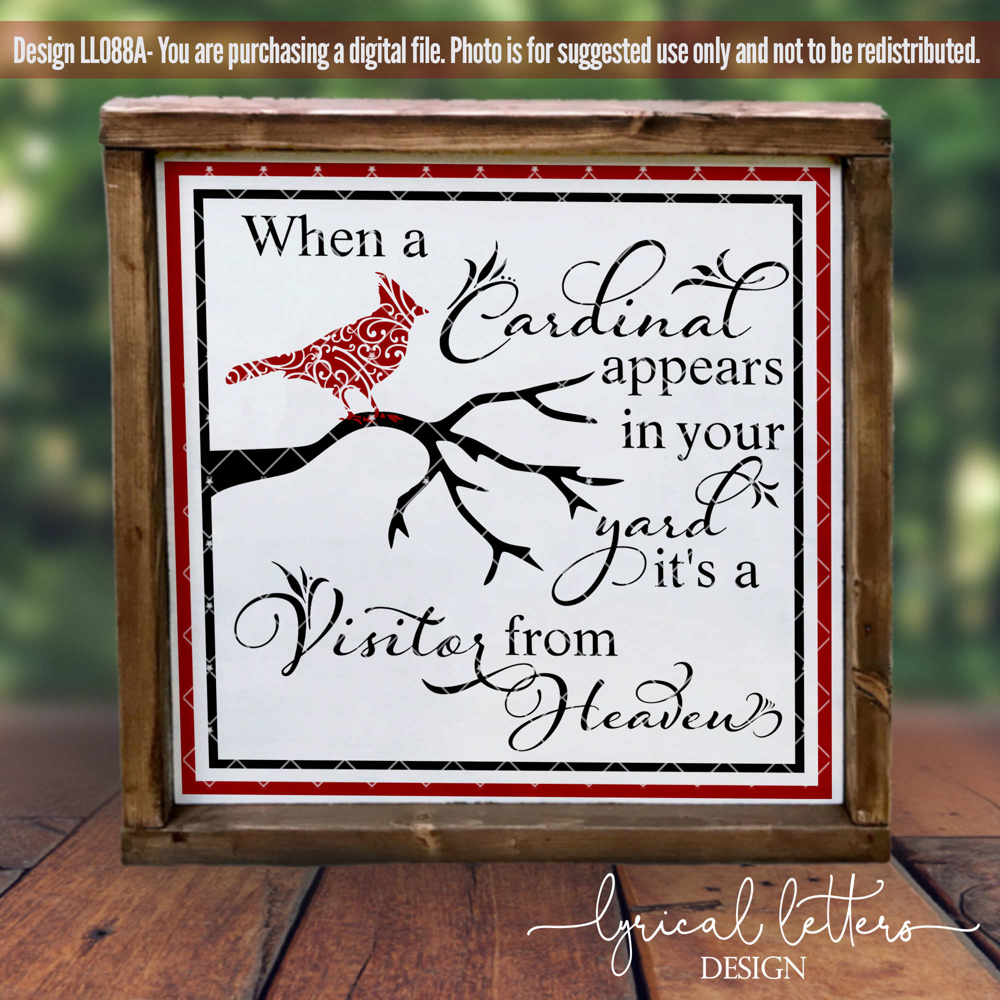 Cardinals & Christmas Bundle of 22 SVG DXF FCM Cut File example image 3